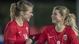 Ada and Andrine Hegerberg: Norway's sister act