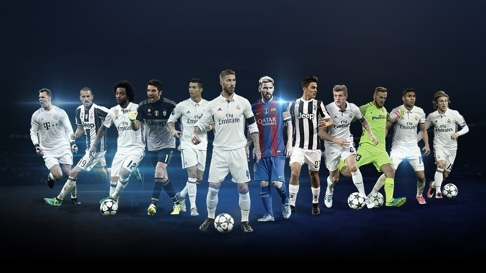 Champions Facebook: UEFA Champions League Positional Awards Shortlists