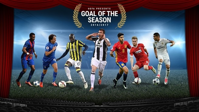 UEFA.com Goal of the Season: watch and vote now!