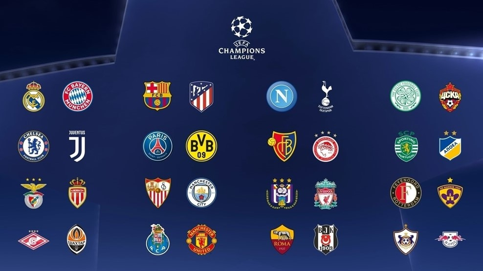UEFA Champions: Champions League Group Stage Squads Confirmed