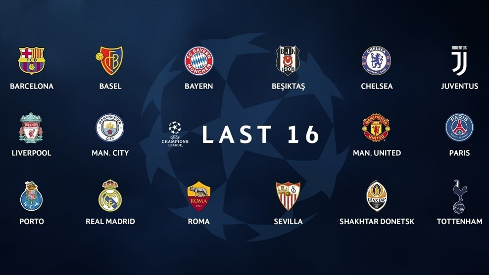 Who Is In The Champions League Round Of Uefa