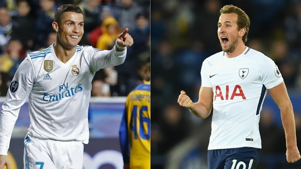 Kane and Ronaldo join trio with 50 goals in 2017