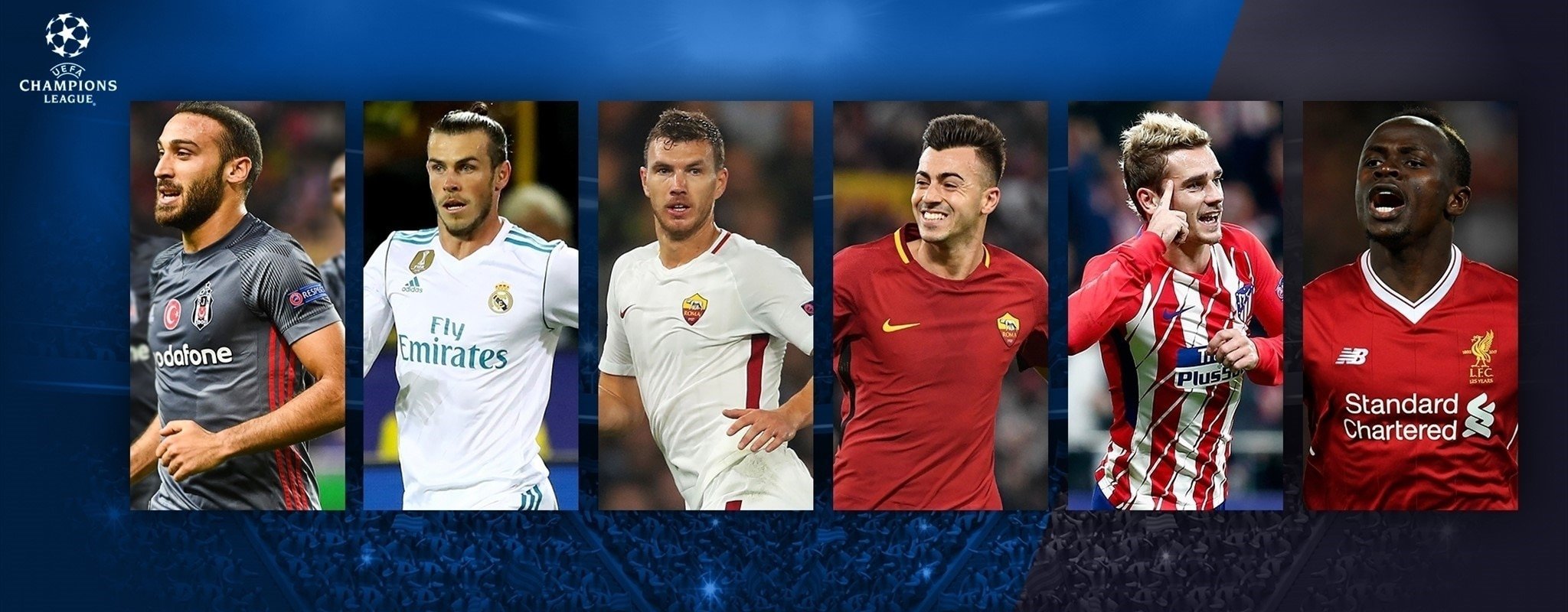Vote for your Champions League Goal of the group stage