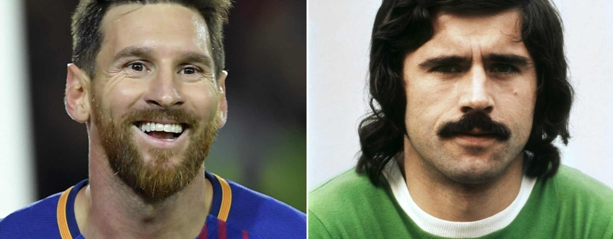 How do Gerd Müller and Lionel Messi compare?