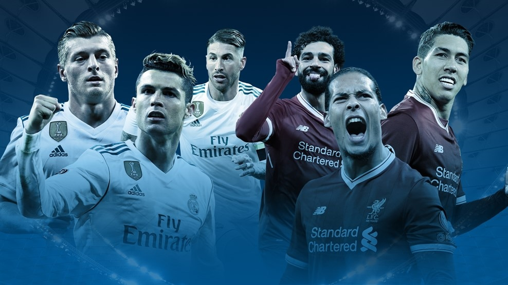 Real Madrid v Liverpool: Champions League finalists