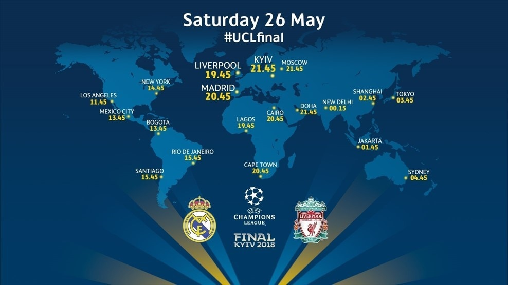 When is the Champions League final where you are?