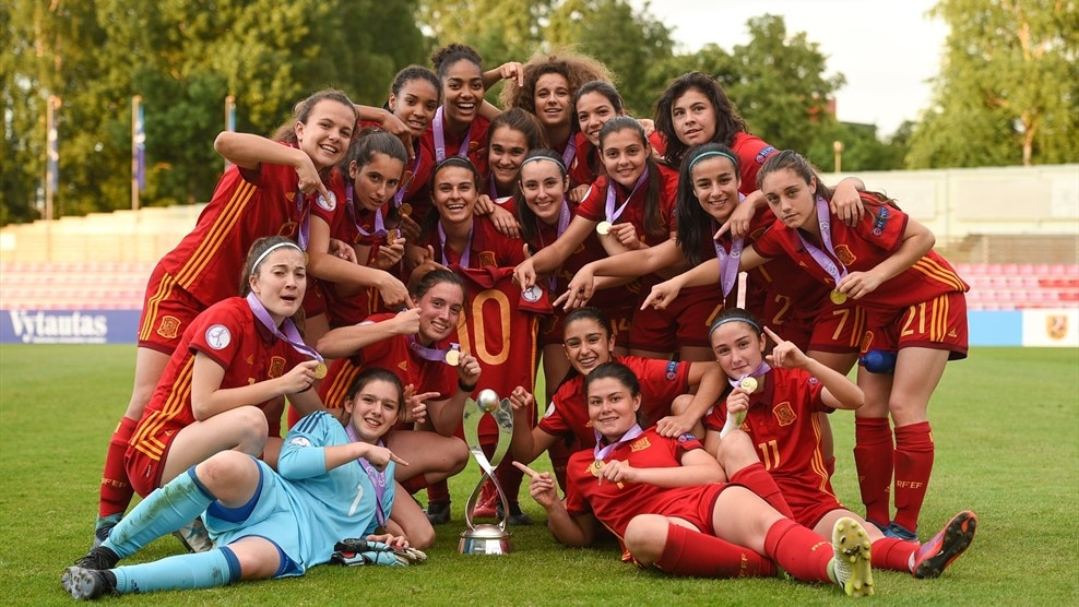 Spain win #wu17euro: at a glance womens under 17 news uefa.com