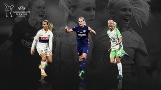 Women's Player of the Year shortlist: Harder, Hegerberg, Henry