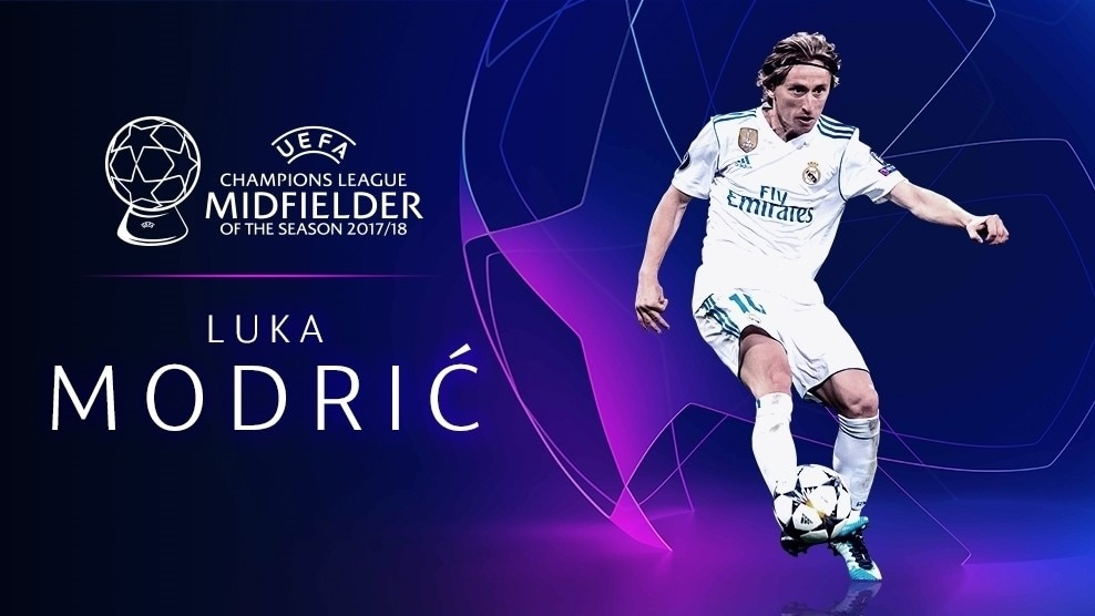 62d754eec Luka Modrić  Champions League Midfielder of the Season - UEFA Champions  League - News - UEFA.com