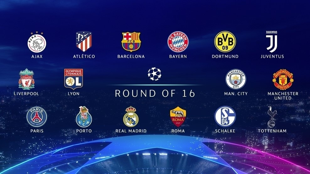 Champions League Round Of 16 Nicknames Stats And Fun Uefa