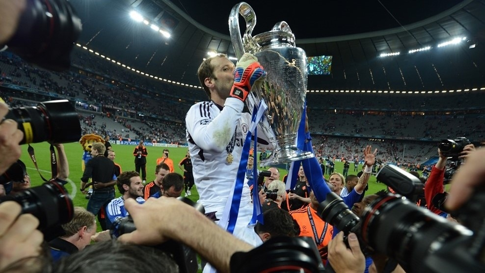 Image result for cech ucl win