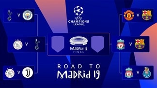 Champions League: All the fixtures and results