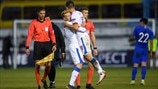 Group stage highlights: Greece 0-2 Czech Republic