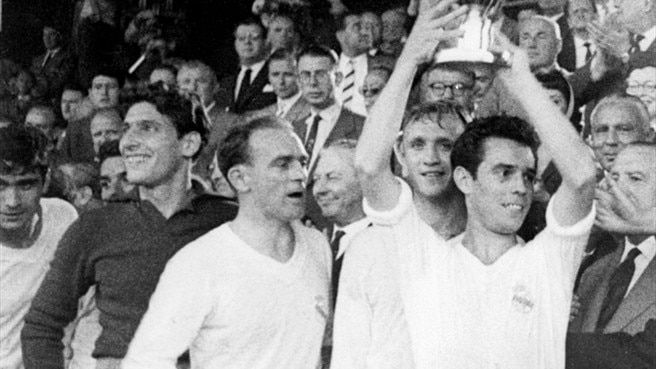 1958/59: Di Stéfano keeps Madrid rolling