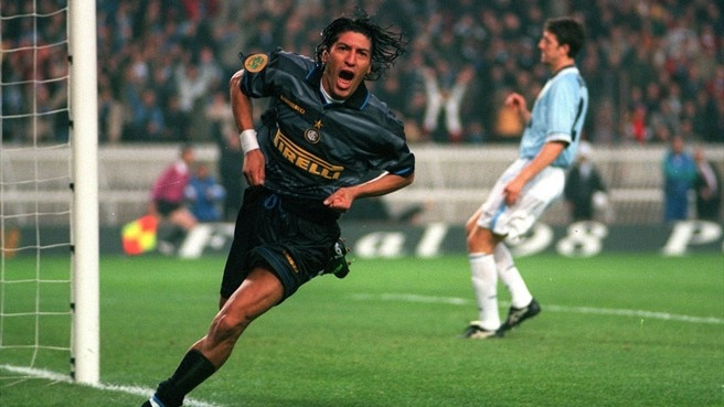 1997/98: Zamorano leads Inter success
