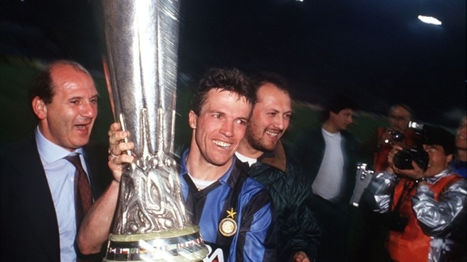 1990/91: Matthäus makes the difference for Inter