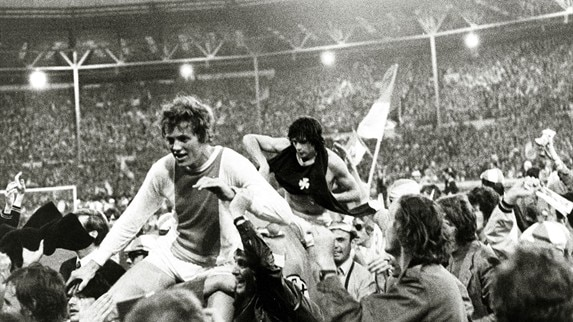 Cruyff recalls Ajax's '71 Wembley win