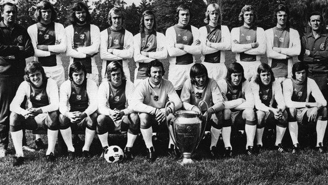 1972/73: Rep makes it three for Ajax