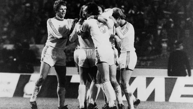 1975/76: Roth completes Bayern hat-trick