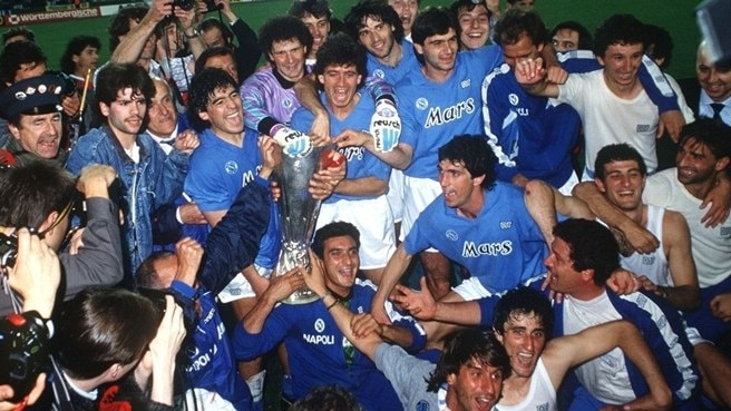 1988/89: Maradona leads the way for Napoli