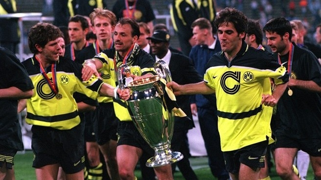 1996/97: Riedle makes Dortmund's day