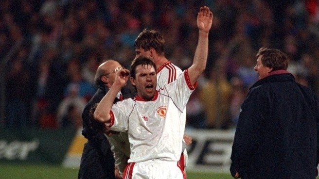 1991: McClair makes United's day