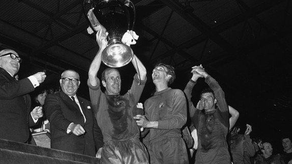 Stepney and Sadler recall United's '68 win