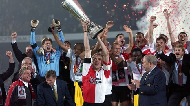 Final joy for Feyenoord