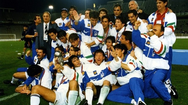 1996: Totti on top for Italy