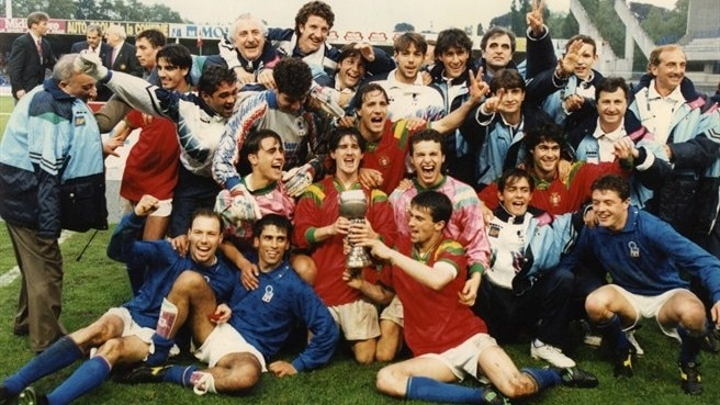 1994: Orlandini blooms as Italy seal double