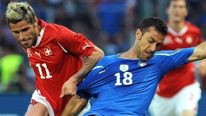 Azzurri held by Switzerland