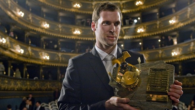 Čech wins Czech Republic player of the year award