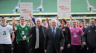 John Giles launches Walk of Dreams fundraiser