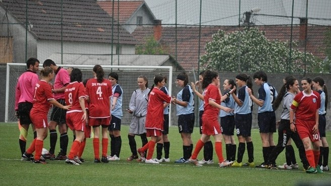 Women's football gains firm footing in Montenegro