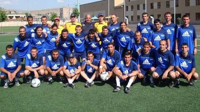 Armenian coach and referee courses held