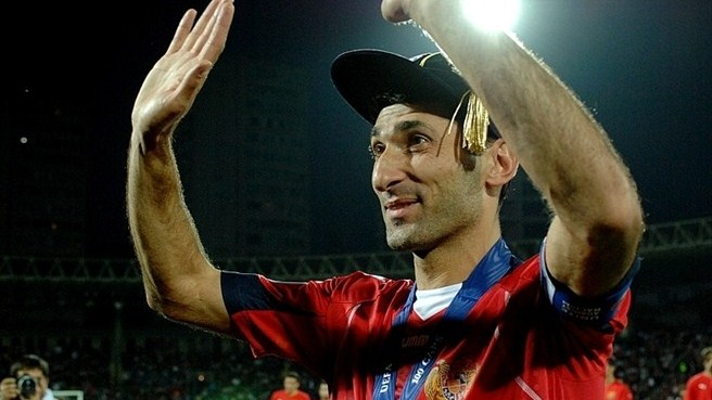 Armenia stalwart Hovsepyan hangs up his boots