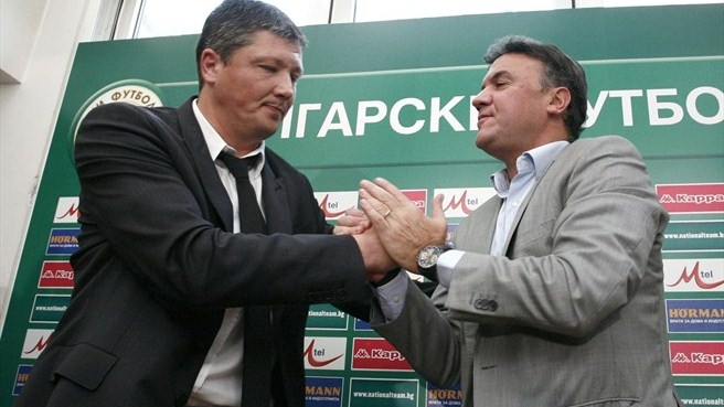 Luboslav Penev named as new Bulgaria coach