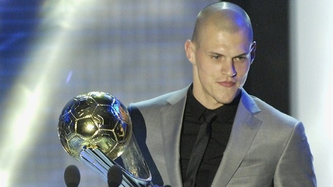 Skrtel named Slovakia's best for a third time
