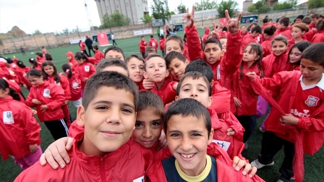 Turkey celebrates UEFA Grassroots Day