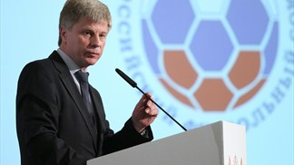Tolstykh takes Russian Football Union helm