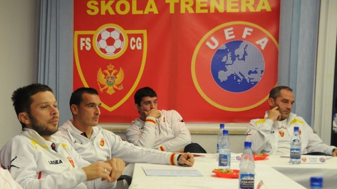 Montenegrin internationals play the long game