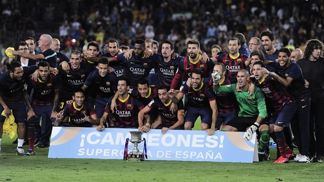 Martino off the mark as Barcelona win Super Cup