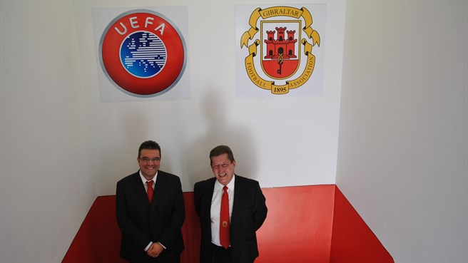 Gibraltar FA opens new headquarters