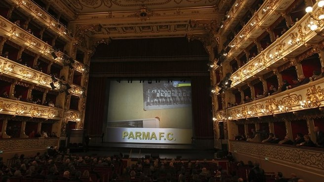 Parma mark 100th anniversary in style