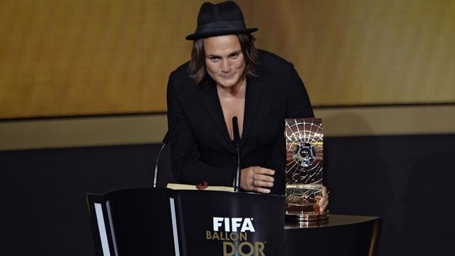 Angerer and Neid collect FIFA awards
