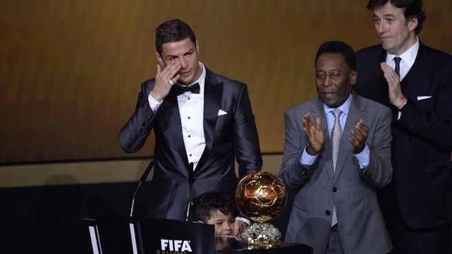 Ronaldo ends Messi reign with Ballon d'Or win