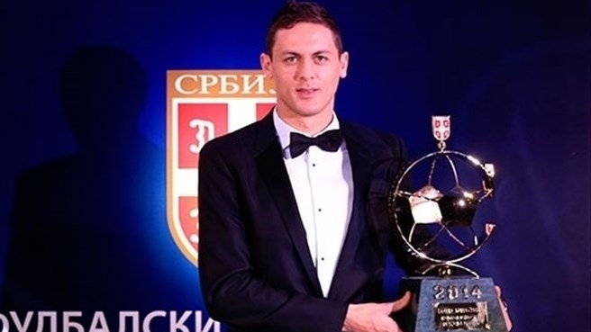 Chelsea's Matić honoured as Serbia's best