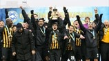 FC Kairat Almaty celebrations