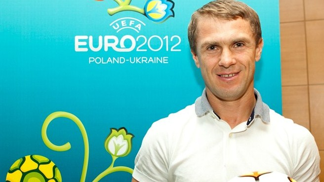Rebrov among Ukraine's new Friends of EURO