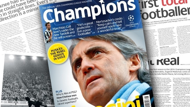 Mancini's City in Champions focus
